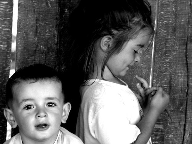 Bambini a Srebrenica Bosnia 2007