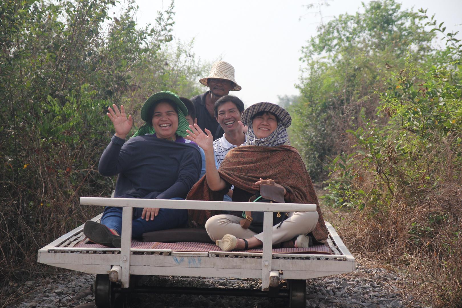 BambooTrain Kambodscha