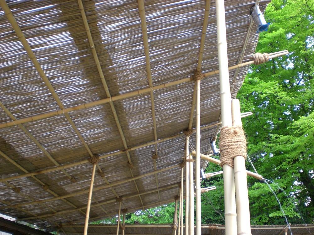 Bambusdach