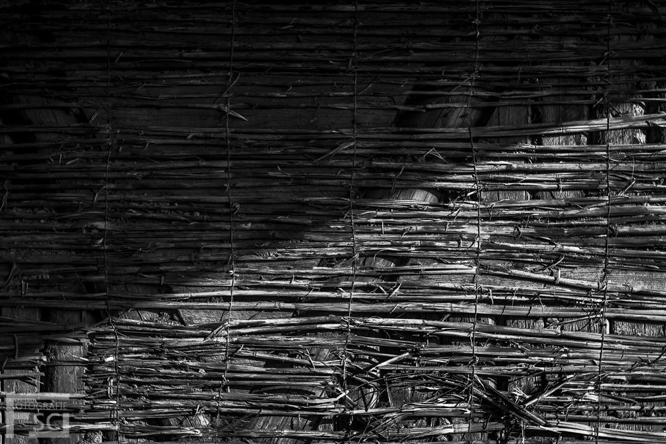 Bambusmatte-Diagonal