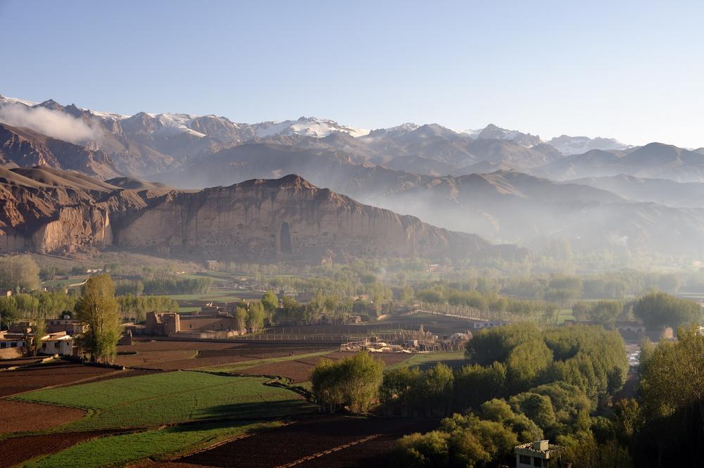 Bamiyan at dawn
