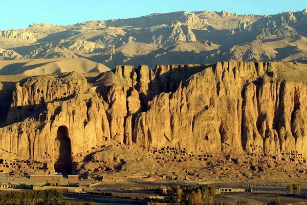 Bamiyan - ohne Buddastatuen
