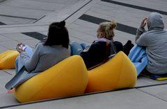 Bananen-Sitze