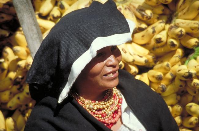Bananenverkäuferin