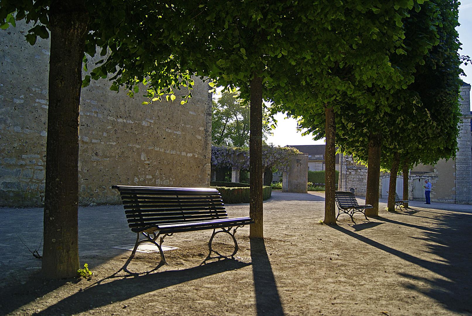 banc public, Chartres