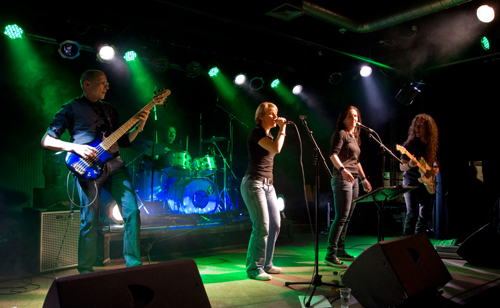 Band Aid Project 2010 im Hallenbad WOB III
