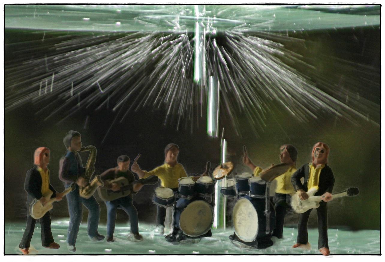 Band im Rampenlicht