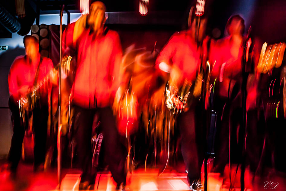 """Band """"Porter Wolkenstein"""" in Aktion"""