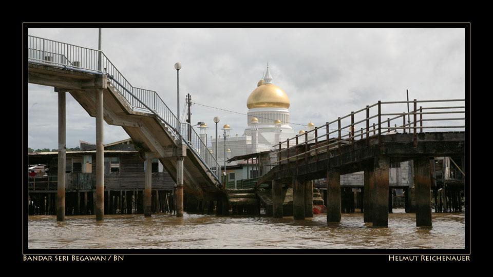 Bandar Seri Begawan, from Water Village / BN