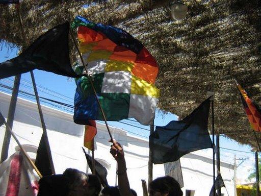 Bandera Aborigen