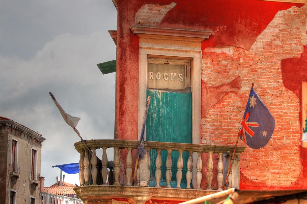 bandiere a venezia
