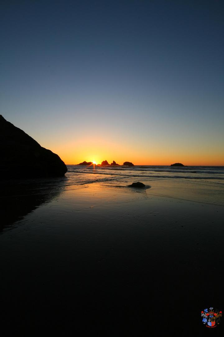 Bandon Beach Abend 2