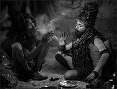 Bang Philosophers ~ Juna Akhara, Kumbh Mela