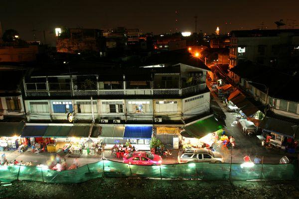 - Bangkok at night -