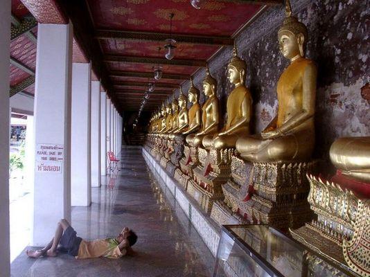 Bangkok: Ein Schläfchen in Ehren…