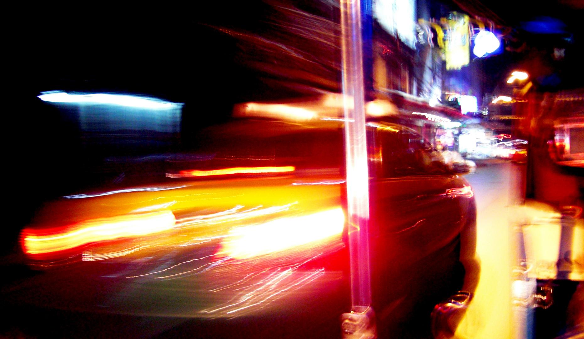 Bangkok macht es einem schwer ein Taxi zu finden