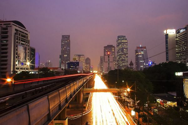 Bangkok schläft nie.