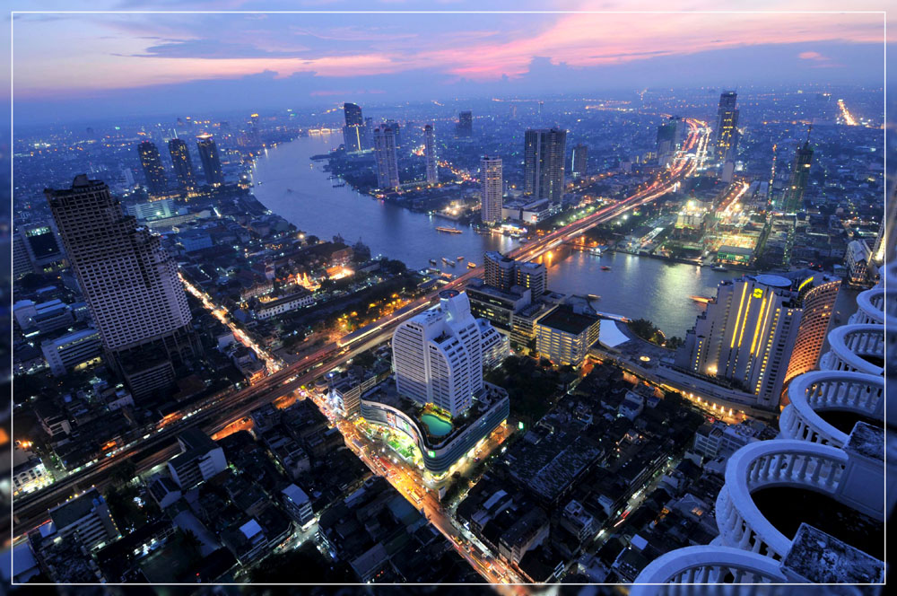 Bangkok Skyline 2