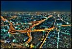 Bangkok skyline - Verkehrsknotenpunkt