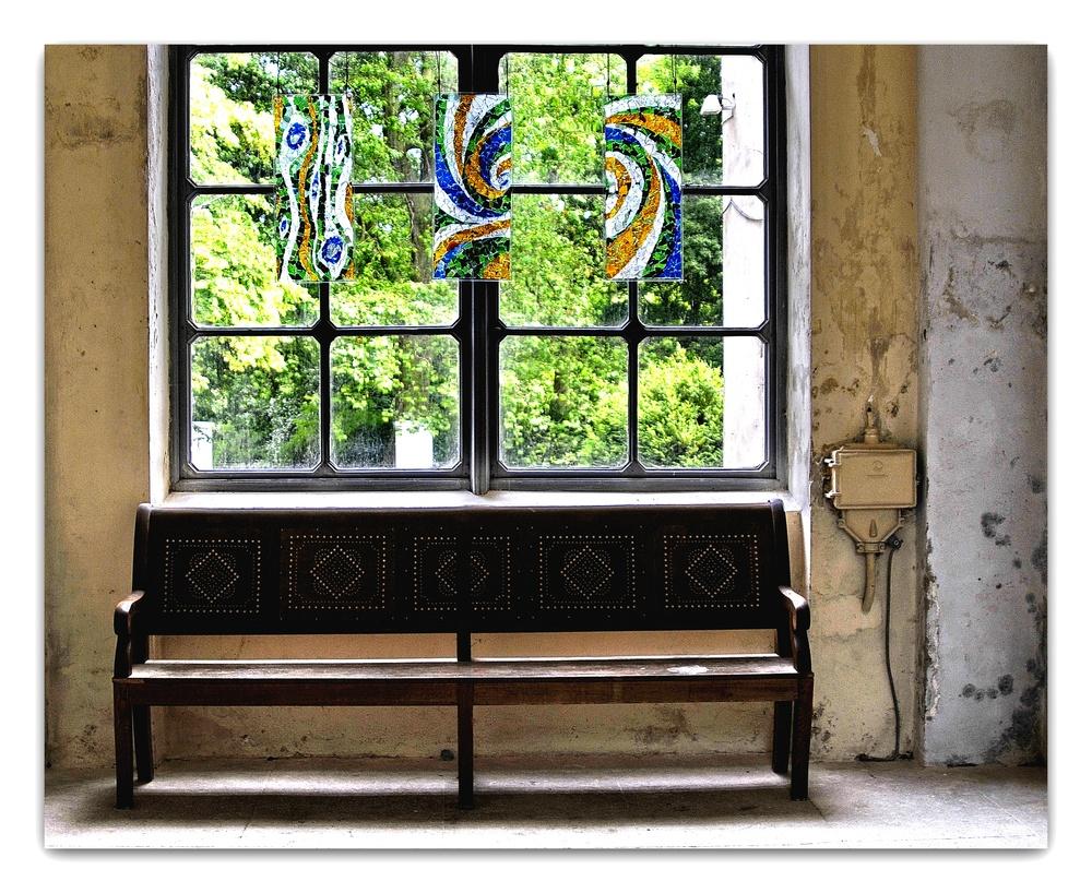 Bank am Fenster