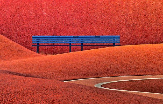 Bank im roten Bereich