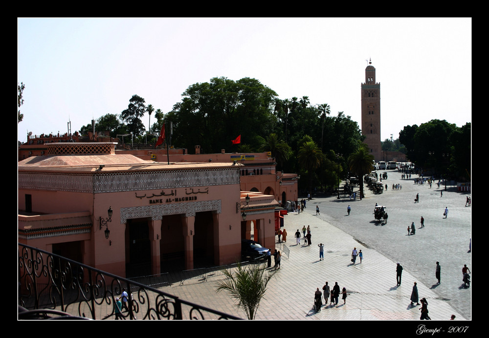 Bank in Marrakech