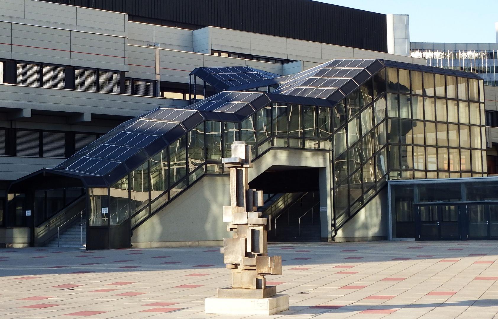 Bankenviertel Wien Vorplatz