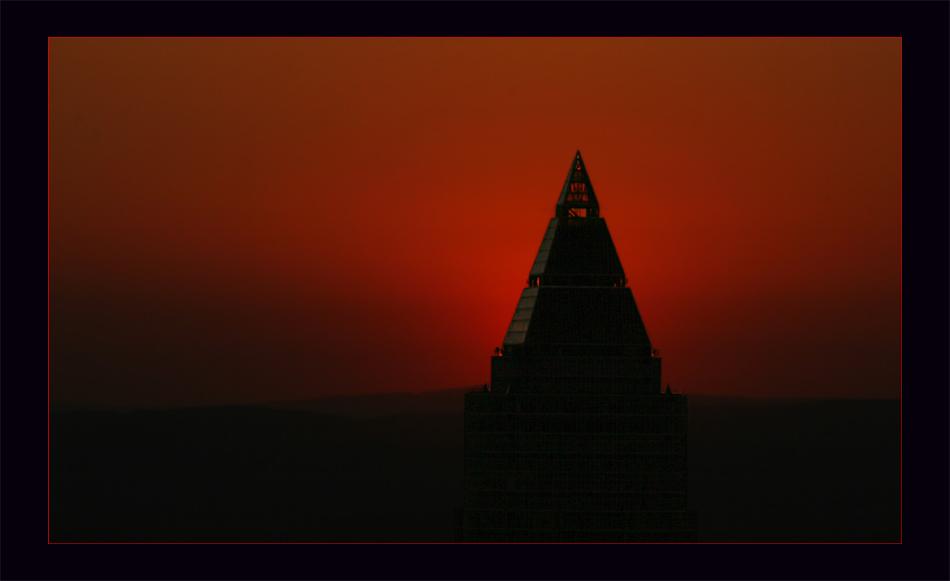 Bankfurt´s pyramid