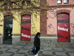 BANKROTT in Prag