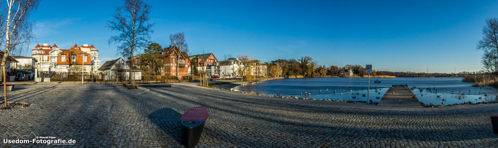 Bansin Promenade am Schloonsee