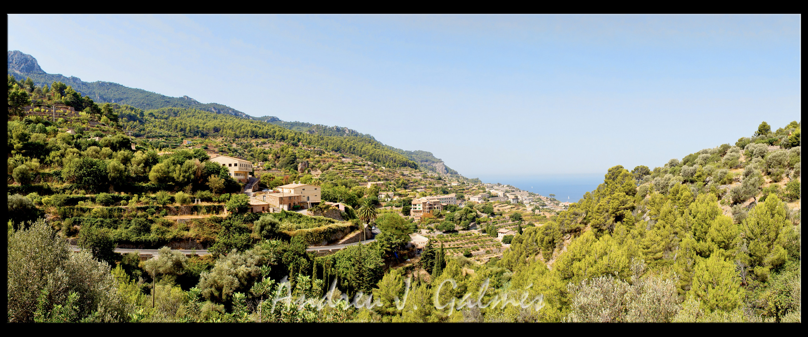 Banyalbufar - serra de Tramuntana - Mallorca