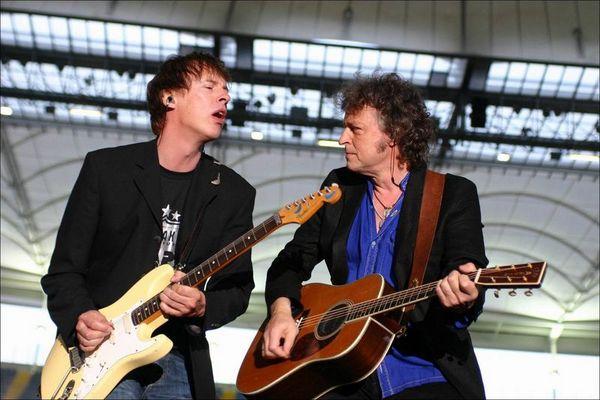 Bap in Konzert in der Commerzbank Arena in Frankfurt