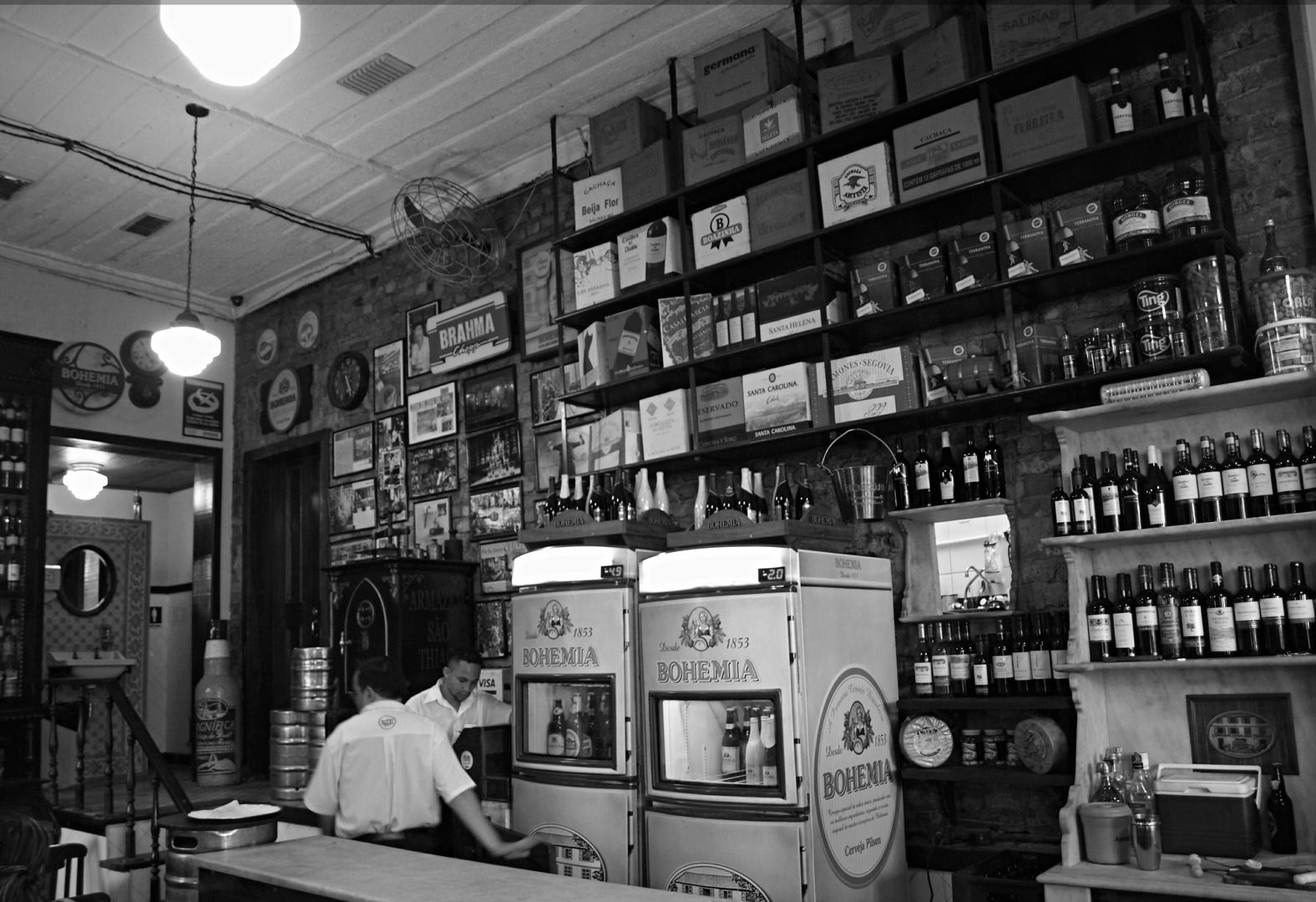 Bar do Gomez - Santa Teresa - von innen