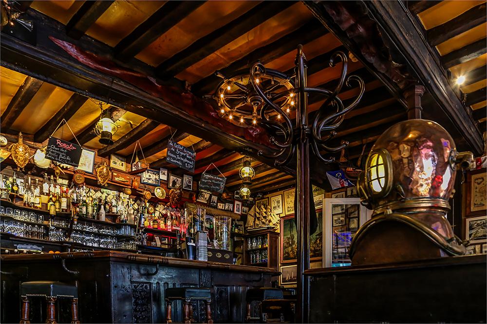 Bar in der Bretagne