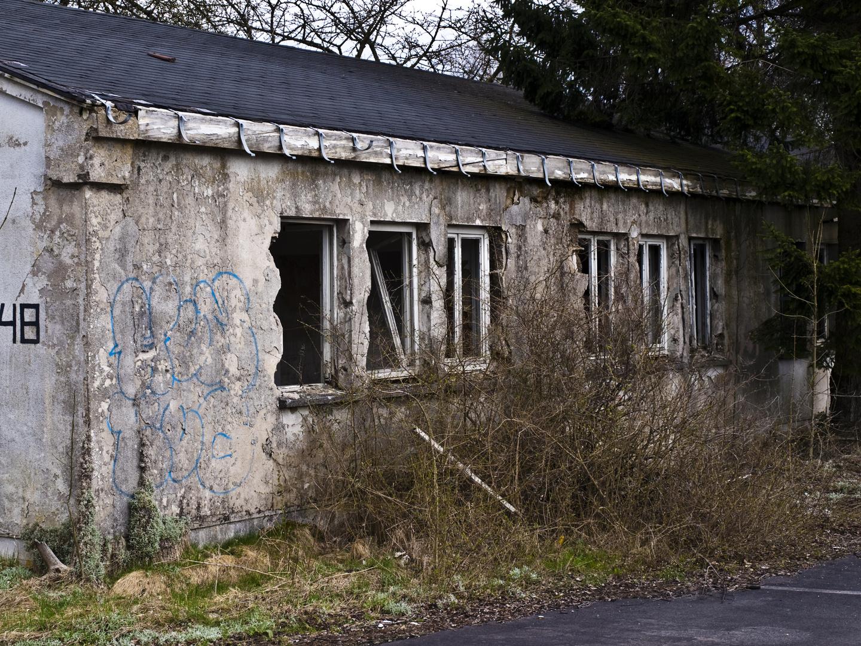 Baracke in Kaserne