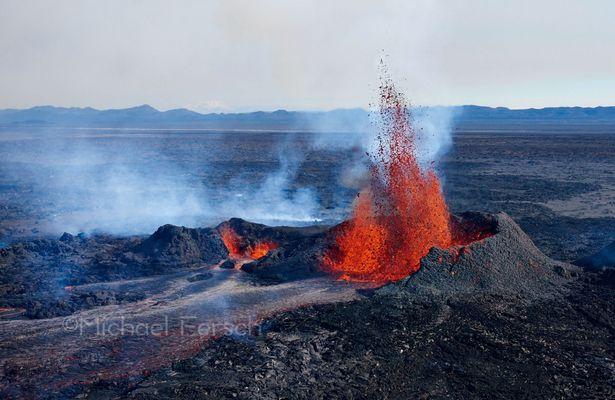 Bárðarbunga - Holuhraun-Lavafeld