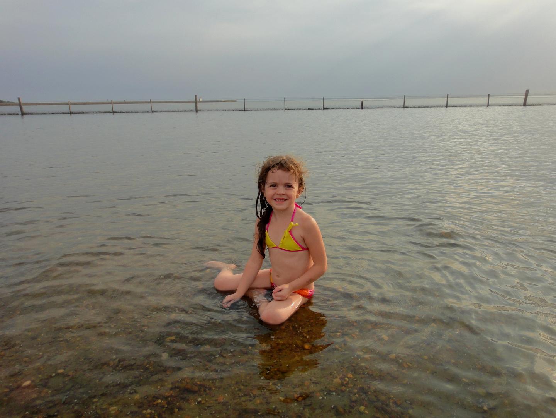 Bárbara e o Rio Tocantins, em Palmas (TO)