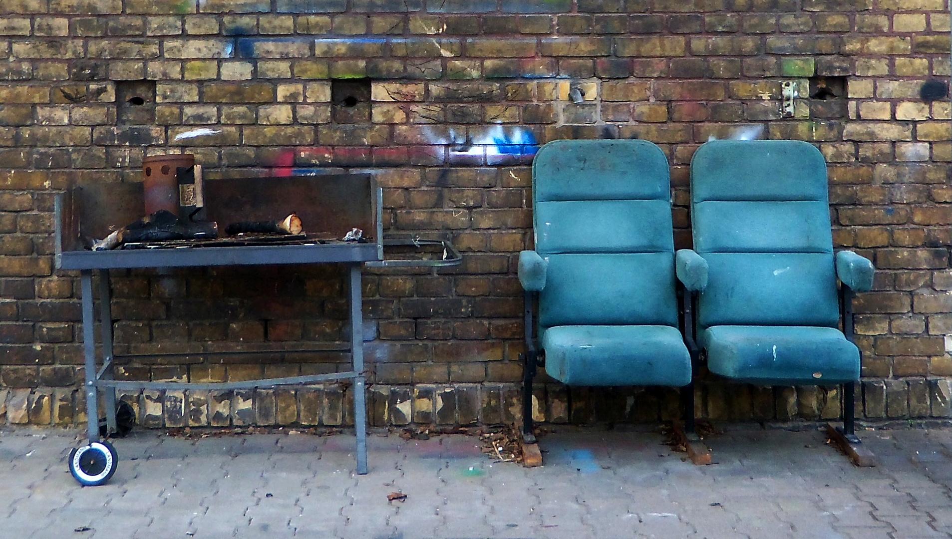 Barbeque-Sitze