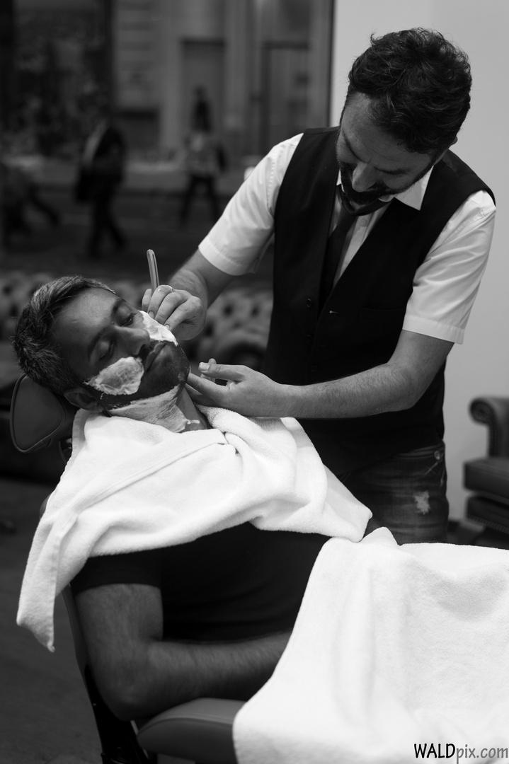 Barber @ work
