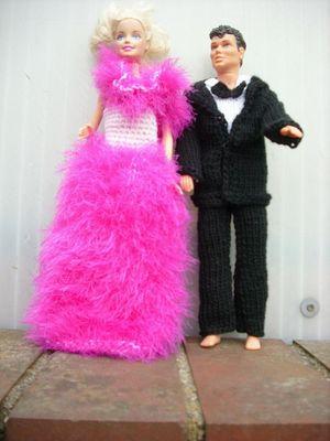 Barbie und Ken in Gala