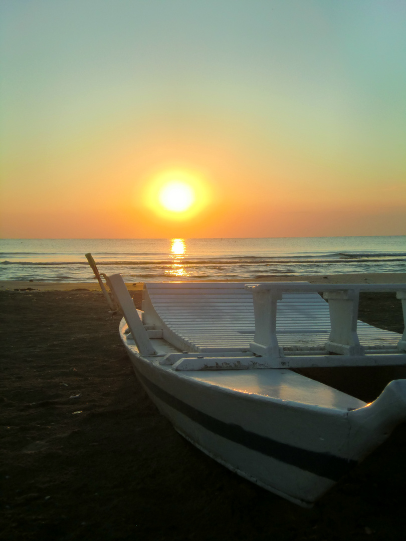 barca di mattina