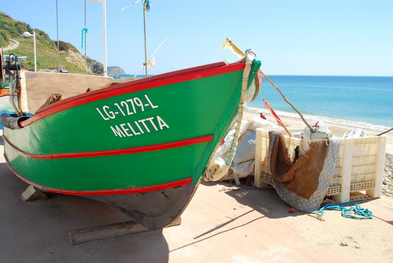 Barca y playa