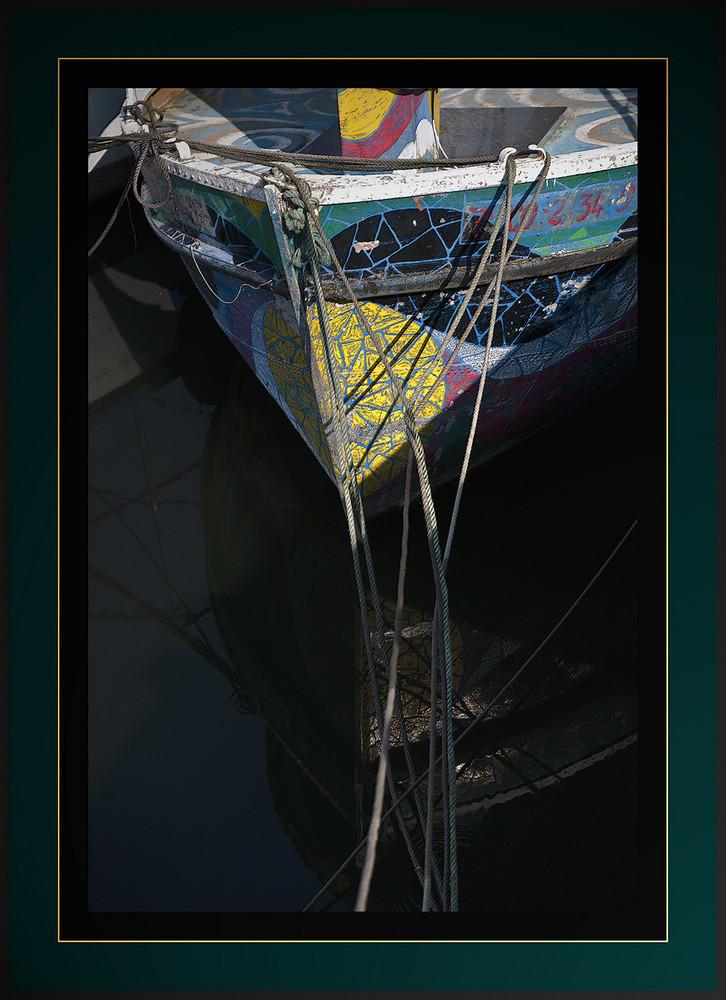 Barca y reflejo