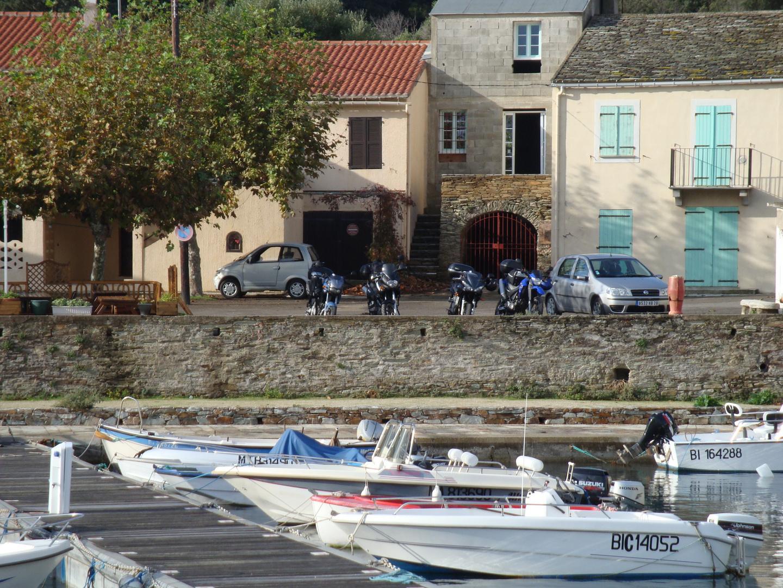 Barcaggio, porto