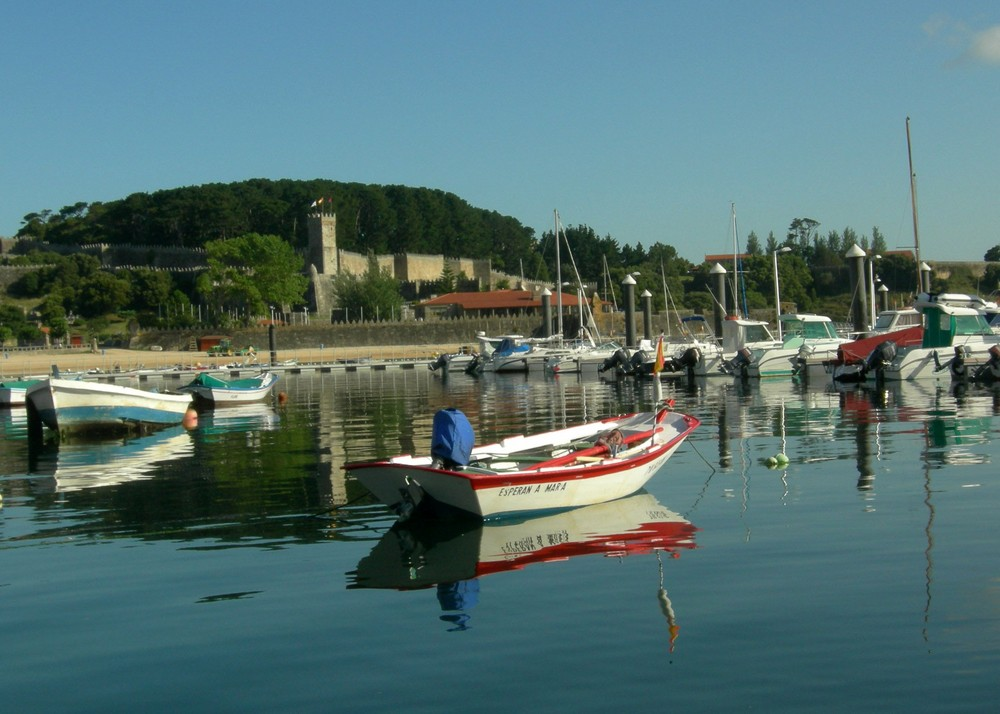 Barcas en Bayona