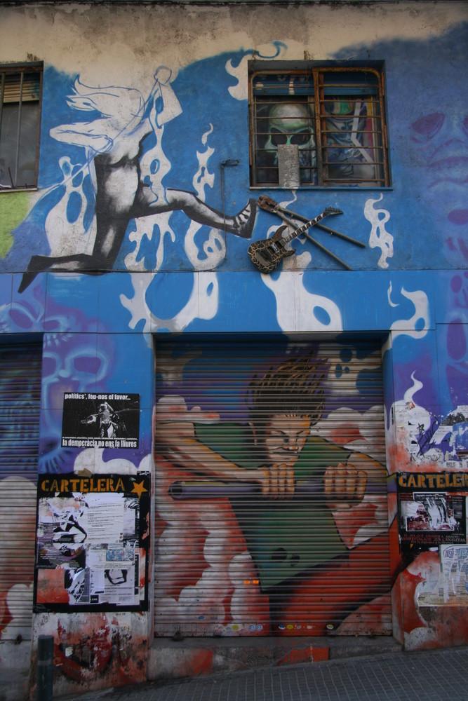 Barcelan Street Art B