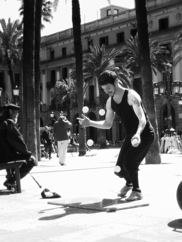 Barcelona 2005 - Placa Reial