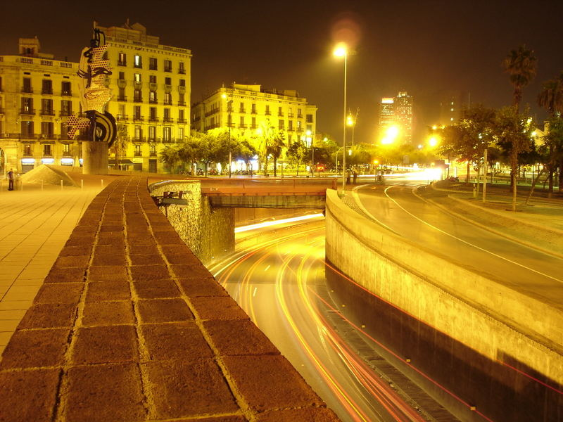 Barcelona am Abend...