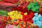 Barcelona am Markt Süßigkeitenstand