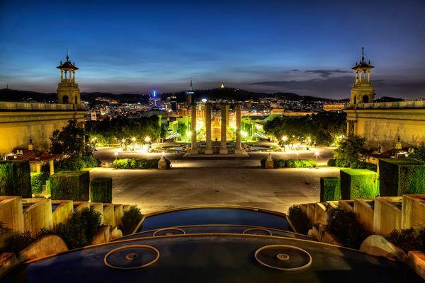 Barcelona - Blick vom Palau Nacional